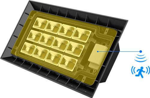 Roof  LED High Bay light 150w led flood light outdoor lighting IP66 waterproof 3