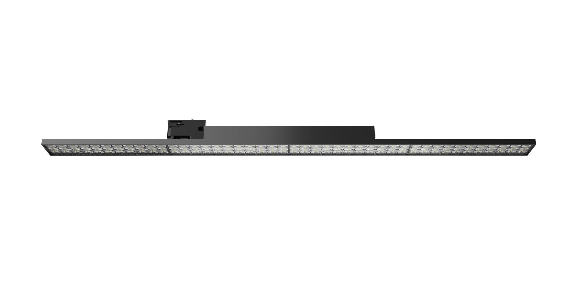 Type D with lens Linear LED Track Light 40w/60w led track light 130lm/w 5