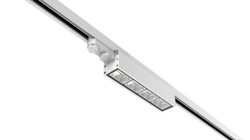 Dali dimming Linear LED Track Light 40w 130lm/w 3 Circuits 1