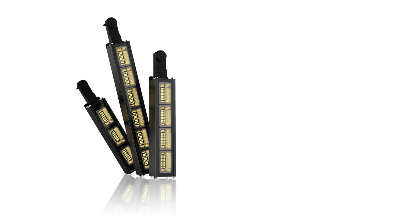 Dali dimming Linear LED Track Light 40w 130lm/w 3 Circuits 3