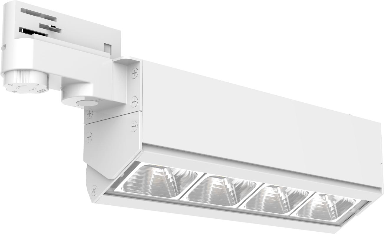 Bricks R350 Series Linear LED Track Light 3 Circuits 5 Years warranty 130lm/w 2