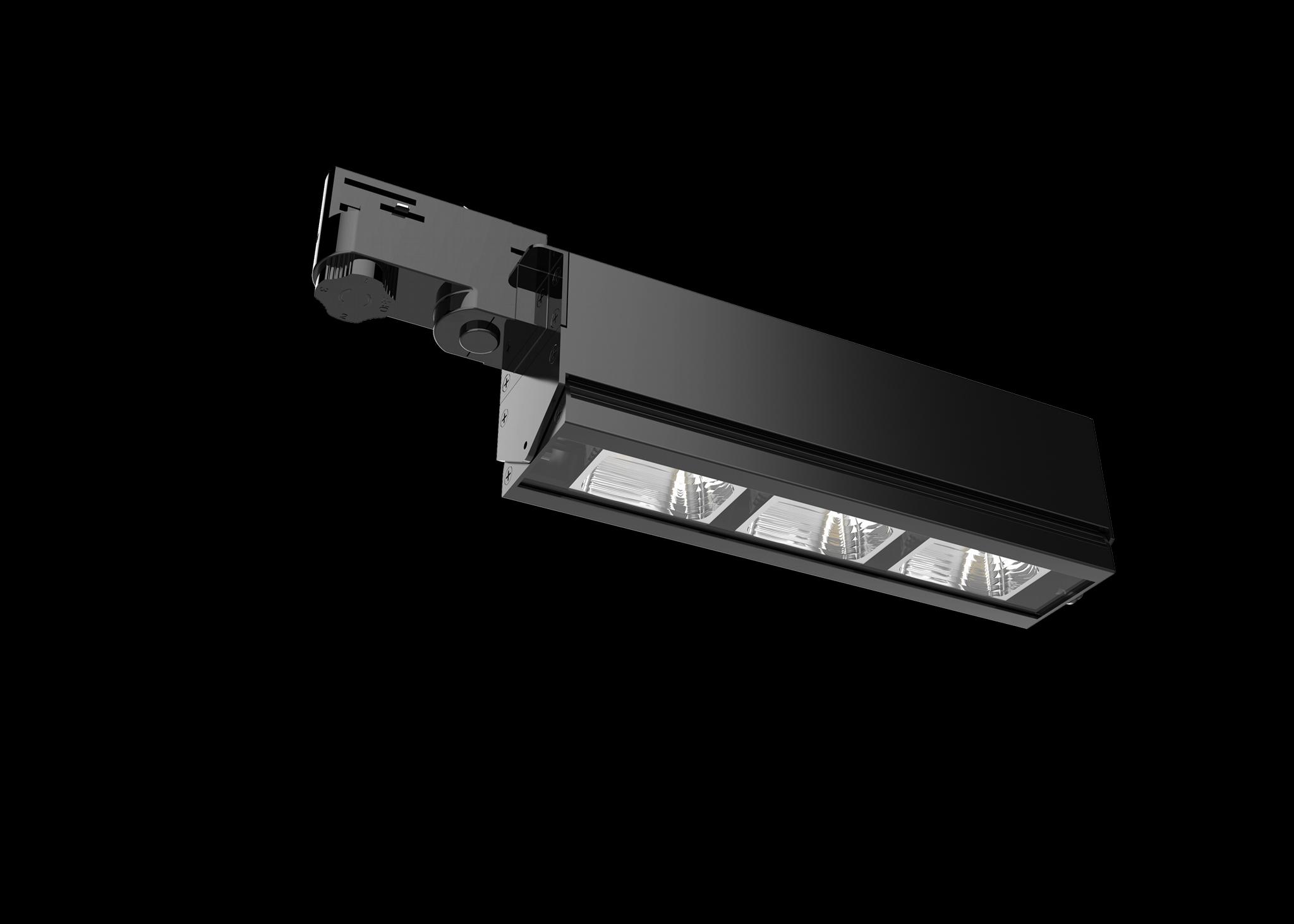 Bricks R350 Series Linear LED Track Light 3 Circuits 5 Years warranty 130lm/w 5