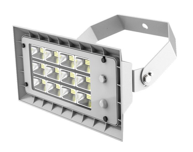Roof  LED Flood Light AC100-277V IP66 7 years warranty 140lm/w   1