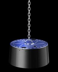 Ripple LED High Bay Light 80w 100w 120w 140lm/w 7 years warranty AC100-277V