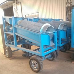 Gold washing plant used gold trommel for sale
