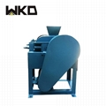 Laboratory double roller crusher with