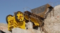 Wheeled type stone crusher machine Small