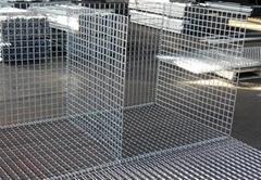 Welded mesh ga  anized wire mesh welded gabion factory