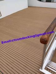 Composite pvc boat decking