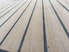 marine boat deck -synthetic teak deck