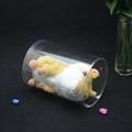 custom printing transparent plastic toy