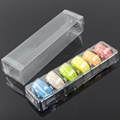 ustomized Clear Plastic Macaron Blister clamshell Packaging Tray with lid 3