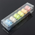 ustomized Clear Plastic Macaron Blister clamshell Packaging Tray with lid 5