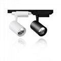 LED Spotlight Track Spot Light Ceiling Lamp 10W 20W 30W European Standard 1