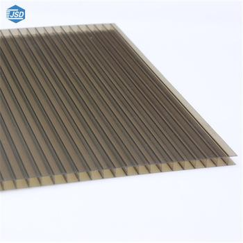 4mm 6mm 8mm 10mm Bronze polycarbonate roofing sheet 3