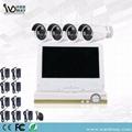 CCTV 4chs 2.0MP Wireless Surveillance