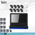 Wdm 8chs 1.3MP CCTV Security Wireless