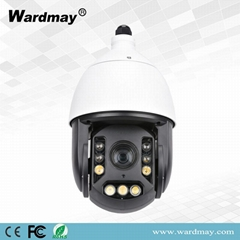 H. 265 18X 2.0MP Full Color Human Recognition and Tracking Speed Dome IP Camera