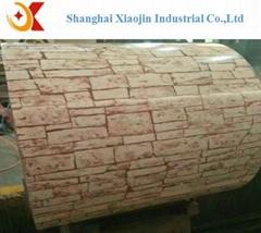 Marble Grain Series Color Prepainted Galvanized Steel Coil