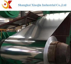 Galvanized steel coils for roofing material