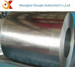 Hot dipped galvanized steel in coil for construction material