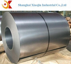 Cold rolled galvanized steel coils with spangle