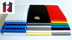New design eco-friendly colorful Polypropylene corrugated sheet supplier