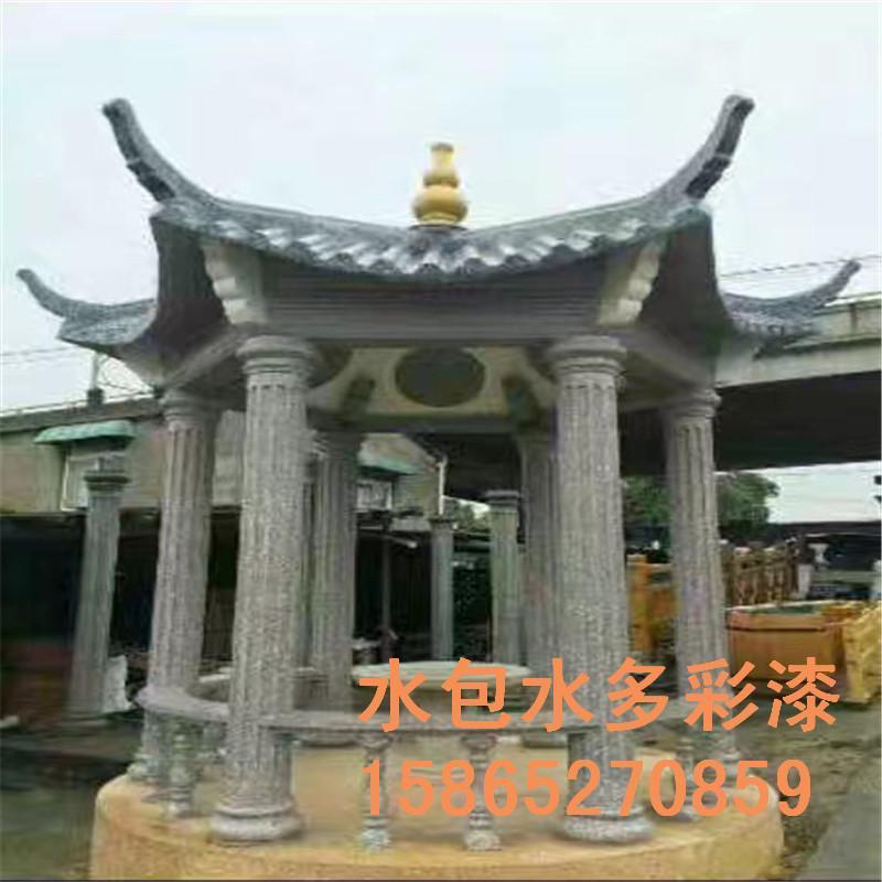 羅馬柱水包水大理石漆 4