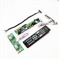 HDMI VGA AUDIO AV USB TV LCD controller board for LM170E03-TLC1 MT170EN01 V.C