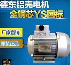 德东YS8016电机0.37KW三相异步电机