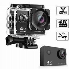 Ausek 4k 30fps wifi action camera