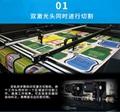 全景攝像定位激光切割機HM SMT1815 運動服蕾絲裁片 2