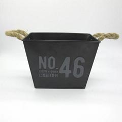 2018 new design metal flower pot for china supplier