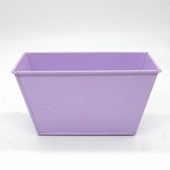 Cheap price metal flower bucket garden pot