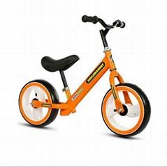 "Children bicycle EVA Tyre with LED light 12"" Wheel Size Kids Balance Bike"