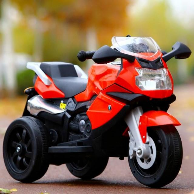 Good Quality children Ride on Toy rechargeable battery 3 wheels motorbike 4