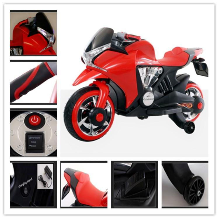 6V Kids Electric Motorcycle Children Ride On Toy Motorbike Battery Power 5