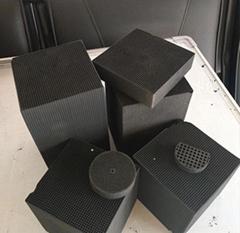西安電廠鍋爐淨化活性炭陝西蜂窩炭