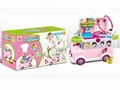 Funny Bus Doctor Toy Set with Light and