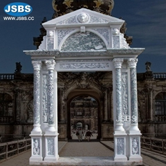Hot Selling Beautiful Stone Carving Luxury Villa Marble Gazebo Pavilion