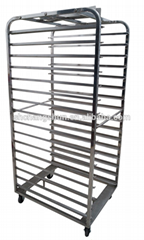 16 Layers Factory Manufacture Kitchen Equipment Bakery Cheap Rotary Oven Rack St
