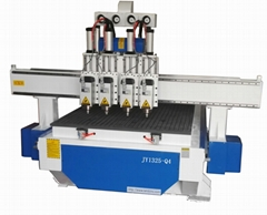 Pneumatic multi- heads CNC router GR-1325