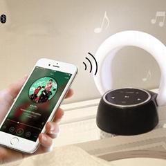 Wireless Desk Lamp with Power Bank Bluetooth Speaker led night light