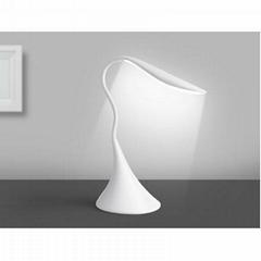 USB Gooseneck Desk Lamp swan shape table reading book light