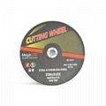 Abrasive Flat Cutting Wheel for ferrous