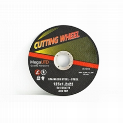 Ferrous metal and stainless steel cutting Resin cutting wheel and disc