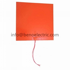 Customized Electric Flexible Silicone Rubber Heating Pad