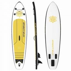 pvc材料 优质可折叠站立式充气冲浪板