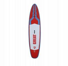 可OEM 的充氣式可折疊的站立式衝浪板