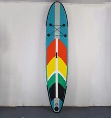 带有五颜六色EVA的 充气站立式冲浪板